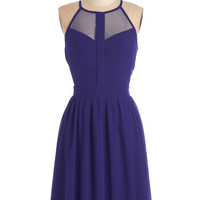 ModCloth Mid-length Racerback A-line A True Vision Dress