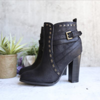 fairest ankle boot of them all - black