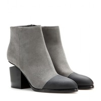 alexander wang - gabi suede ankle boots