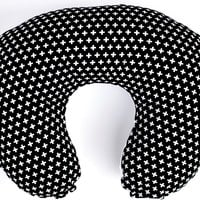 Boppy Covers | Black & White Swiss Cross Crib Baby Bedding
