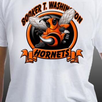 Booker T. Washington Hornets Banner T-Shirt