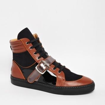 Vivienne Westwood Orb Hi-Tops - Brown