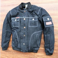 Breathable racing jackets/motorcycle off-road jackets/knight  jackets/Windproof motorcycle clothing Denim jacket have protection