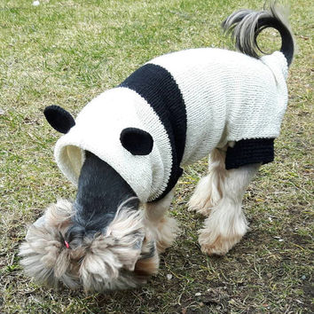Panda Sweater Sweaters For Pets Dog Jumper Puppy Sweater