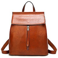 ELOMBR Women Backpack Purse Casual Shoulder Bag Ladies Rucksack School Bag for Girls