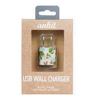 Cream Cactus USB Wall Charger
