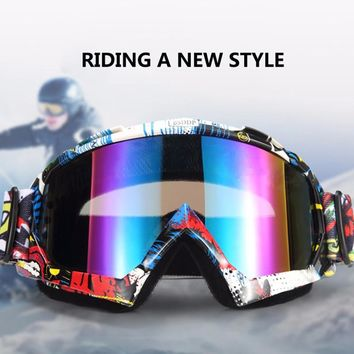 New Motocross Goggles Glasses Oculos Cycling MX Off Road Helmet Ski Sport Gafas For Motorcycle Dirt Bike Racing Goggles