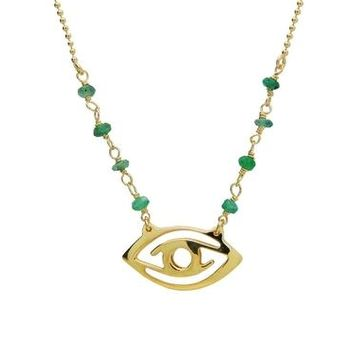 Best Green Evil Eye Necklace Products on Wanelo c10975f90d