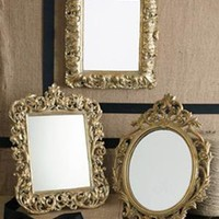 Golden Age Mirror Set of 3