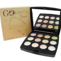 Coastal Scents Go Makeup Palette, Nuuk, 2.98 Ounce