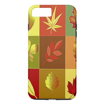 Colours in autumn iPhone 8 plus/7 plus case