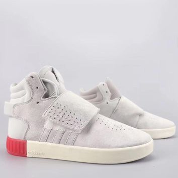 Adidas Tubular Invader Strap Fashion Casual High-Top Old Skool Shoes