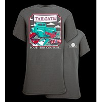 Southern Couture Preppy Tailgate Truck T-Shirt