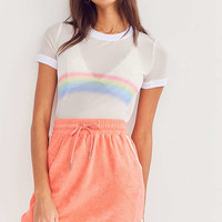 BDG Dolphina Terry Mini Skirt | Urban Outfitters