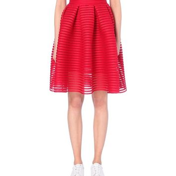 MAJE - Jam perforated skirt | Selfridges.com