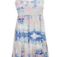 Mogul Interior Eliza Womens Summer Dress Printed Crossback Tiered Flare Bohemian Summer Sexy Sundress