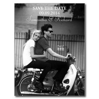Modern Photo Save The Date Postcards