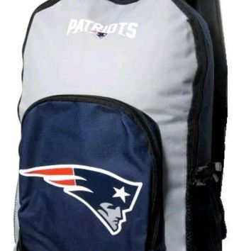 NEW ENGLAND PATRIOTS NFL 18'' TEAM LOGOS ECHO BACKPACK / BAG