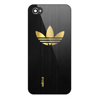 Best New Adidas Gold Logo Black Print On Hard Case For iPhone 6/6s, 6s plus