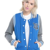 Harry Potter Ravenclaw Girls Varsity Jacket