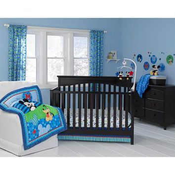 Disney Baby Mickey Mouse Best Friends 3-Piece Crib Bedding Set - Walmart.com