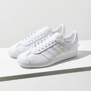 adidas Leather Gazelle Sneaker | Urban Outfitters