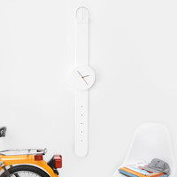 Lazy Oaf | Watch Clock White