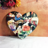 Custom Photo Collage, Heart Photo Collage , Personal Collage, Photo Collage, Personal Photos, Customized Photo Collage