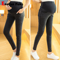 High Maternity Clothes Maternity trousers pregnancy Capris Maternity Pants For Pregnant Women Gestante Pantalones Full Length