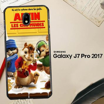 Alvin And The Chipmunks Y0710 Samsung Galaxy J7 Pro SM J730 Case