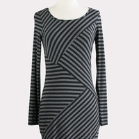 Striped Block Dress