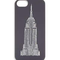 Jack spade | Empire State iPhone 5 Soft Case