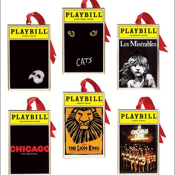 Set of Six |  The Lion King Souvenir | Souvenir for Broadway Show | Broadway.com