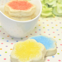 Spring Celebration, Shortbread Cookies, Assorted Shortbread Cookies Sampler - Customized 1 dozen of 2 flavors