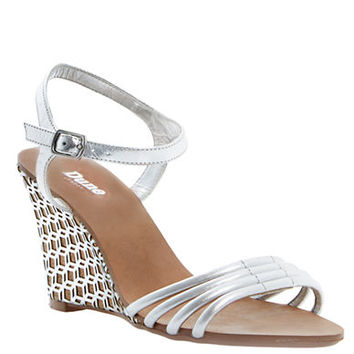 Dune London Hath Leather Wedge Sandals