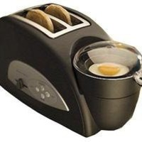 Back to Basics  Egg-and-Muffin 2-Slice Toaster and Egg Poacher