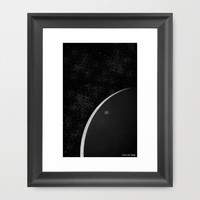 Colonize Framed Art Print by Dood_L