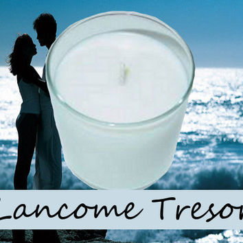 Lancome Tresor Type Scented Candle in Tumbler 13 oz