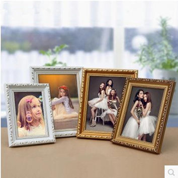 Solid wood wall photo frame, wedding decoration products