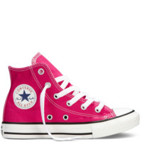 Converse - Chuck Taylor All Star Fresh Colors 4-7 Yr - Cosmo Pink - Hi