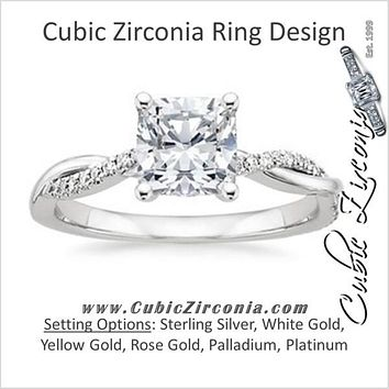 Cubic Zirconia Engagement Ring- The        Naming Rights 1205 a698145c4