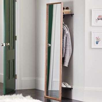 Floor Mirror With Storage