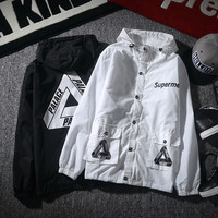 Hats Windbreaker Men Jacket [9129246215]