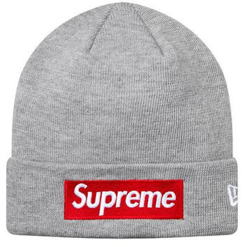 Supreme Women Men Embroidery Keep warm Knit Cap Hat
