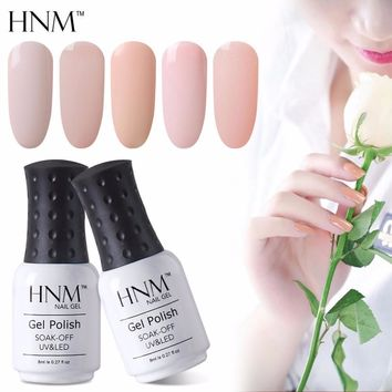 Women Pastel Color UV Gel Nail Polish Lacquer