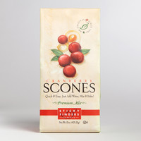 Sticky Fingers Bakeries Cranberry Scone Mix, Set of 6 - World Market
