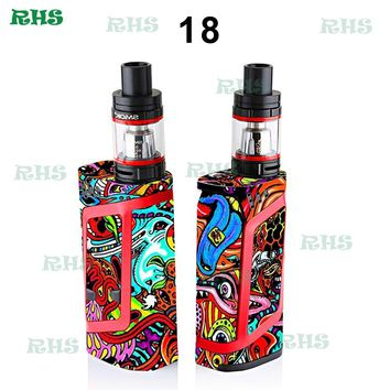 1 pcs Smok alien 220w sticker new types free shipping from RHS factory shop cheaper price 12 types to choose