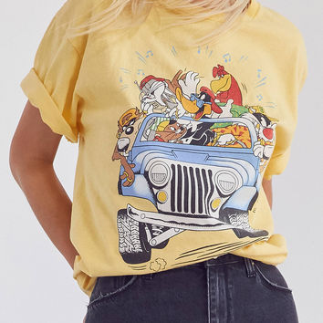 Junk Food Looney Tunes Tee | Urban Outfitters