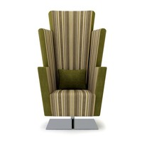 Swivel fabric armchair Lennon Collection by Twin Design