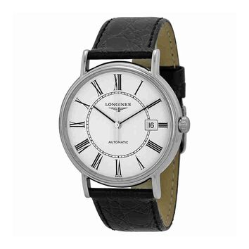 Longines La Grande Classique Automatic White Dial Stainless Steel Mens Watch L4.921.4.11.2